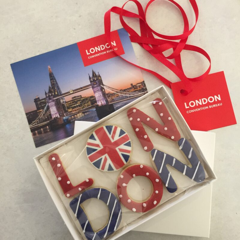 London & Partners - Pillow Gifts for International Conference Delegates.