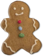 Enchanting Bakes - Gingerbread Man