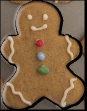Enchanting Bakes - Gingerbread Man
