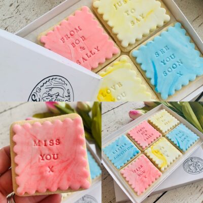 Sending biscuits by post: Enchanting Bakes