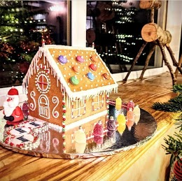 gingerbread house letterbox gift